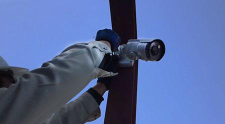 防犯カメラ 設置例